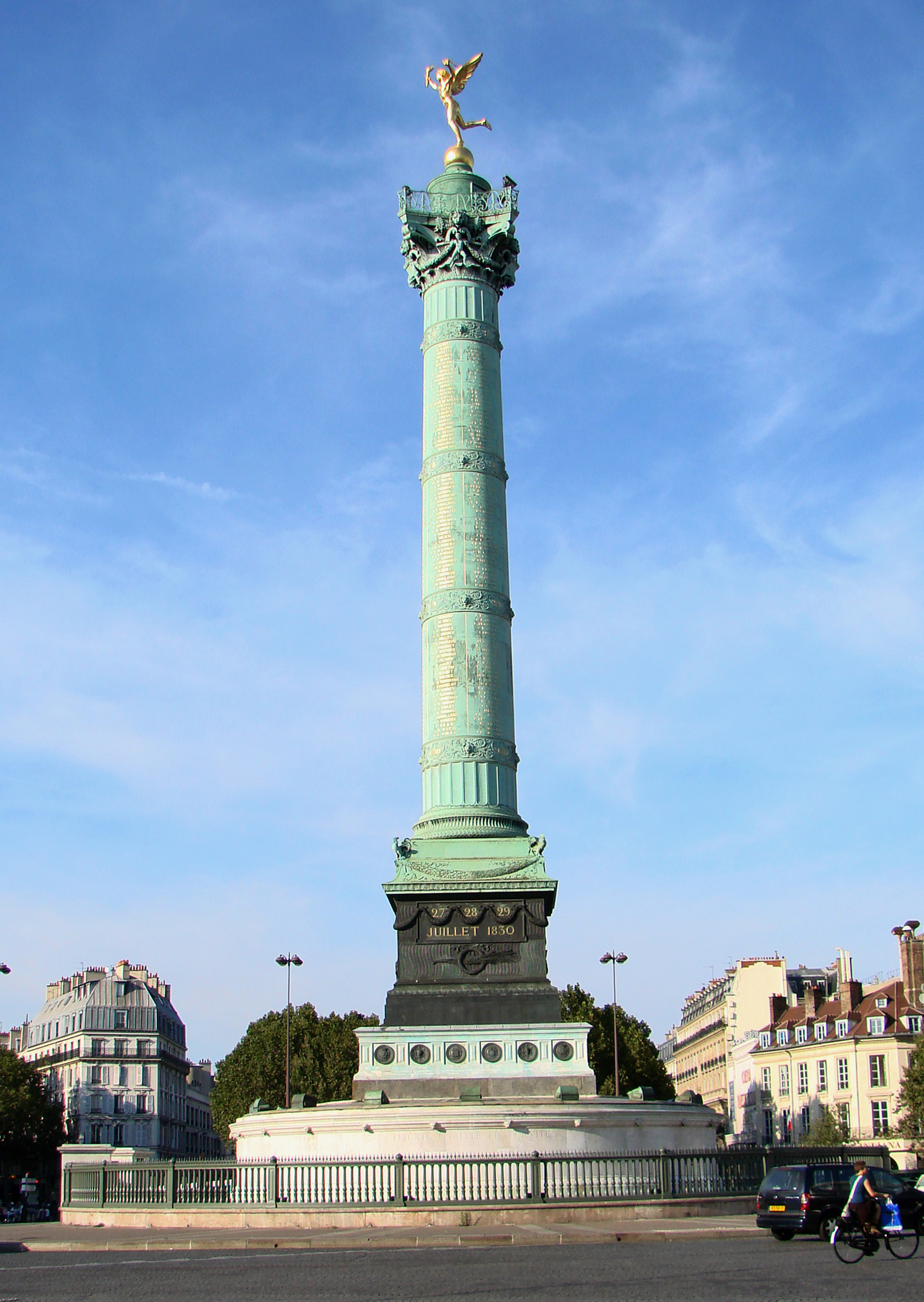 Bastille, Paris.